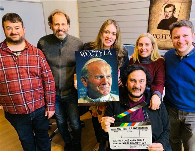 """José María Zavala director de  """"Wojtyla la investigación"""": Creyentes y no creyentes buscan a Dios después de ver el film"""
